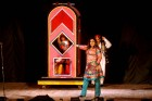 <b>Magic moment</b> Maneka, daughter of illusionist P.C. Sorcar Jr, performs 'Space Trace', one of her trademark acts