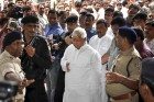 RJD leader and former Bihar CM Lalu Prasad Yadav, arrives at the special CBI Court in Ranchi, Jharkhand. Lalu Prasad was convicted by a special CBI court in the fodder scam corruption case that disqualifies him from Parliament and renders him ineligible for contesting elections for at least six years.