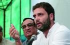 <b>Making sense</b> Rahul Gandhi and Ajay Maken