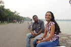 """<b>Rekha Sagar</b> 25, Housewife, married at 18; <b>Amarkanth Sagar</b> 27 Electrician, married at 20 <p> """"He's extremely possessive about me and had huge issues with me even stepping out of the house. But now he trusts me and things have been quite smooth between us."""" <p> """"Rekha is the most beautiful woman I've met. At first, there were problems in the relationship, but she helped me realise many things. I give her full credit."""""""