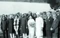 <b>53 years ago</b> Akihito and Michiko in India, 1960