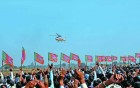 A Narendra Modi rally in Bharatpur, Rajasthan