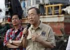 Ban Ki-Moon Presses US, Russia to Help Unblock Syria Aid