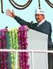 <b>To the ramparts</b> Mr AAP, Arvind Kejriwal, at his inaugural