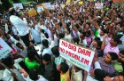 <b>A dam bursts</b> Guwahati erupts against hydel projects