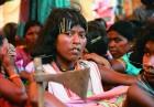 <b>Steel vs steely resolve</b> A Dongriya Kondh girl expresses solidarity with the anti-Posco cause