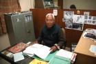 <b>Fiery zeal</b> Batra in his Delhi office