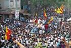 A Kannada film industry anti-dubbing rally