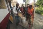 <b>Grain queue</b> A PDS shop in Muzaffarpur, Bihar
