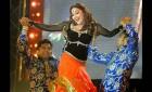 <B>Saifai shake</b> Madhuri Dixit dances at an SP function