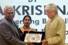 CBI director Ranjit Sinha with Gopalkrishna Gandhi who called CBI the DDT: Department Of Dirty Tricks