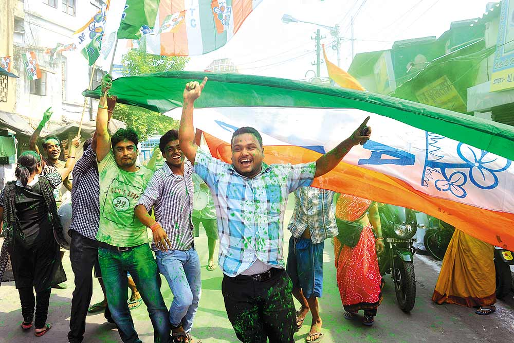 Outlook India Photo Gallery - Trinamool Congress (TMC)