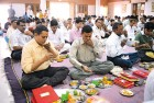 <b>Tall Columns:</b> Chopda Puja (worshipping account books) on Diwali in Ahmedabad