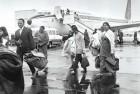<b>New Life</b> Gujaratis expelled from Uganda arrive in UK, 1972