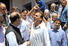 <b>Needled</b> NC workers protest against Rana's statement