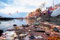 <b>Ungodly</b> The Ganga flows past Rajendra Prasad ghat in Varanasi