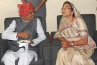 Madhya Pradesh chief minister Shivraj Singh Chouhan with wife Sadhna Singh