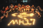 Vigil for MH-17 victims in Yangzhou, China