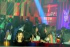<b>High five</b> Saturday night at Playboy Club