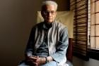 Kedarnath Sinh gat his residence in Saket, September 13, 2009