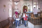 <b>New echoes</b> Monsoon prayers in progress at the Magen Aboth synagogue in Alibag