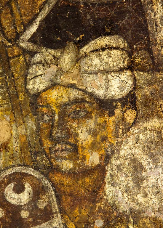 Outlook india photogallery painting for Ajanta mural painting
