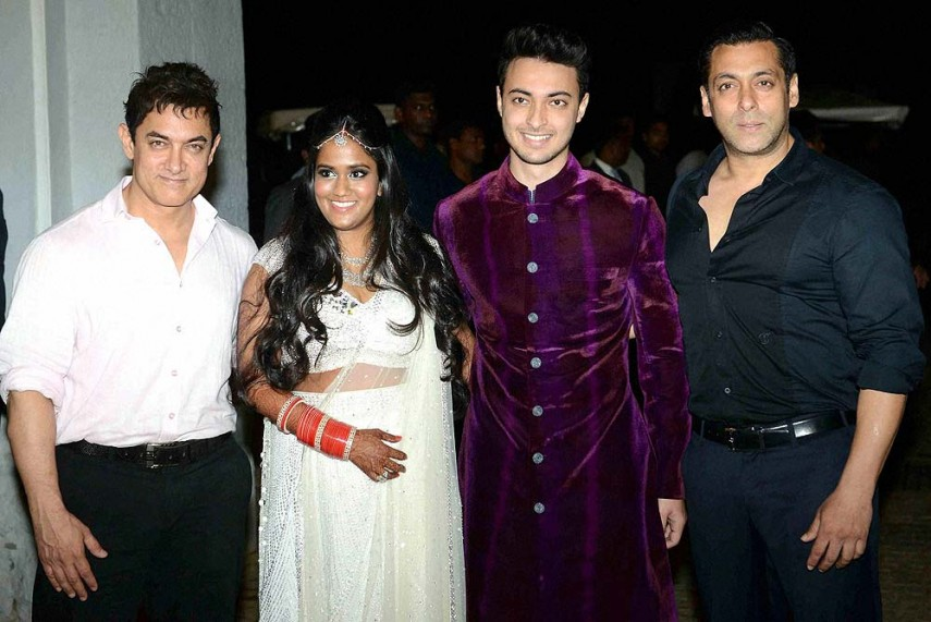 Outlook India Photogallery Arpita Khan S Wedding