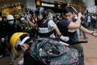 Protest Over Ban on Hong Kong Pro-Independence Activists