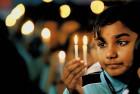 A student in Chennai sheds a tear for Peshawar's slain schoolchildren