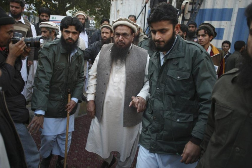 Image result for Hafiz Saeed, ready to land in the electoral battle, a new party's manifesto released on March 24!