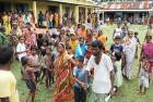 <b>Building a case against migrants?</b> A refugee camp in Chirang district, Assam