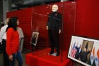 <b.Suit yourself</b> Narendra Modi's monogrammed attire during the Obama visit on auction in Surat