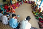 At a micro-finance institution for village women