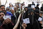 Muslim voters queue up to vote