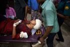 <b>Costly speech</b> Rafida Ahmed, wife of slain blogger Avijit Roy, in a Dhaka hospital