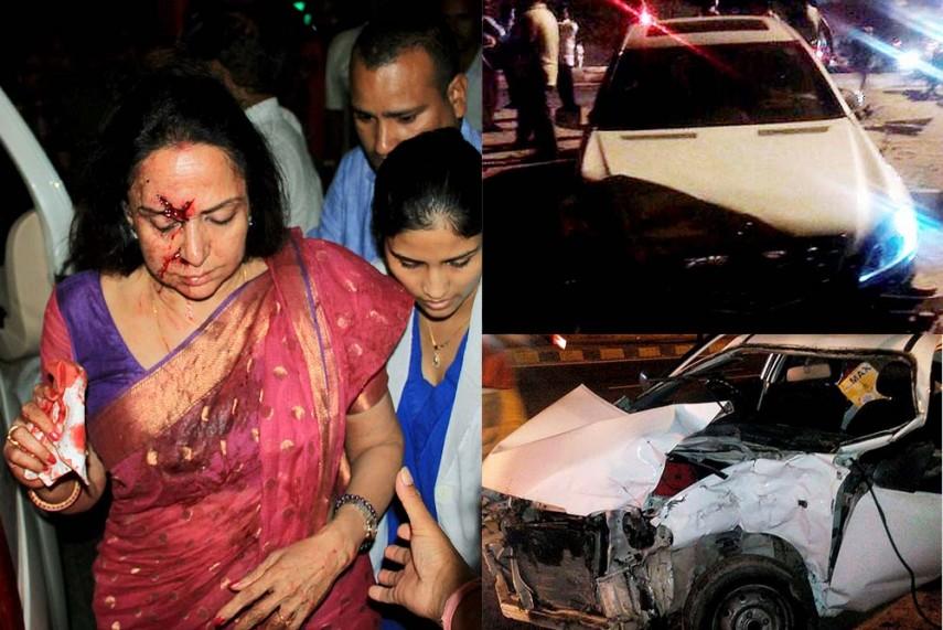 Jayalalitha Car Accident