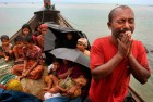 Rohingya Muslims who fled Myanmar to Bangladesh to escape religious violence. The Myanmar government regards Rohingyas mostly as illegal migrants from Bangladesh, while Bangladesh rejects them just as stridently.