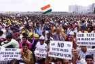 <b>Admit us, do</b> Patels rally in Ahmedabad over the reservation issue