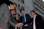<b>One for all...</b> Students of IIFT Delhi partying