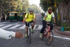 Bankers, Doctors Cycle From Delhi to Mumbai for Cancer Charity