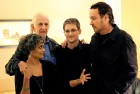 <b>Room 1001, Ritz Carlton, Moscow:</b> Edward Snowden's exiled quarters where actor-writer John Cusack brings Arundhati and Dan Ellsberg to meet him