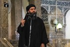<b>'The Caliph'</b> Baghdadi announces his arrival at a Mosul mosque in 2014