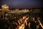 Indian Sikh Displays Sacred Trees' Images In Pak Gurudwara