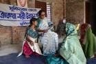 <b>Teaching Hope</b> Khadija Banu with women who have left a life of abuse