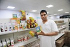 <b>Pure Ghee</b> Acharya Balkrishna showing off Patanjali products