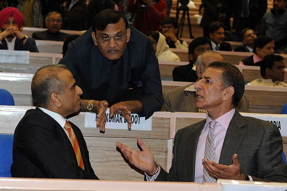 Outlook India Photo Gallery - Sunil Bharti Mittal