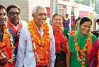 Devrajbhai Bijalbhai Makwana 53, Rajkot Corporator (BJP), Class IX pass