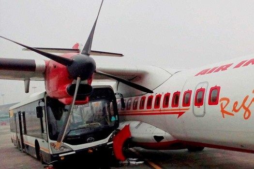 how to take patient in flight in india