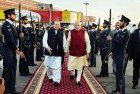 <b>In Happier Times</b> PM Modi is rather effusively welcomed by Nawaz Sharif at Lahore in 2015