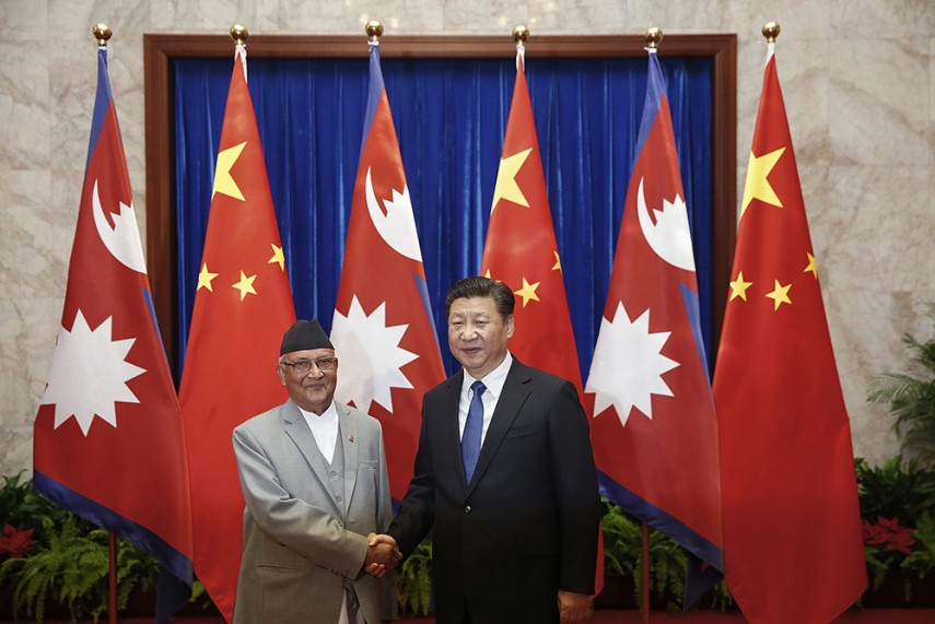 Nepal Signs Transit Treaty With China To Have First Rail Link